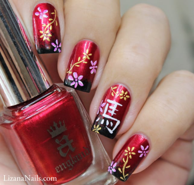 7 Chinese Nail Art To Uphold The Chinese Tradition