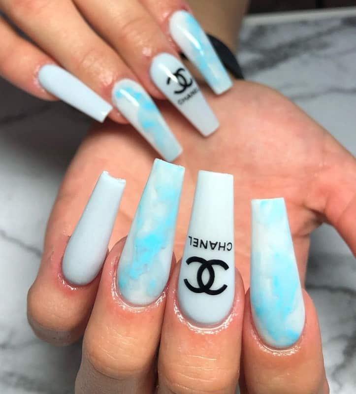 chanel baby blue nail polish