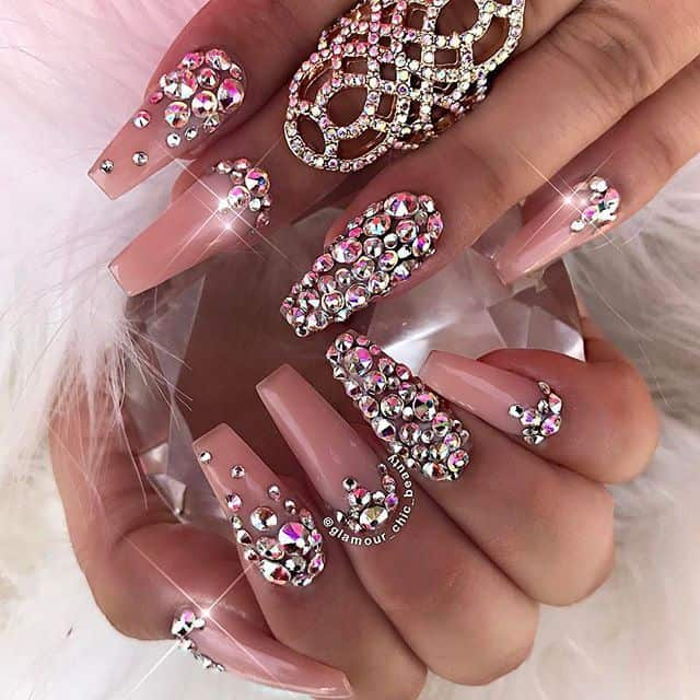 10 Magnetic Crystal Nail Designs to Jewel Up Your Look