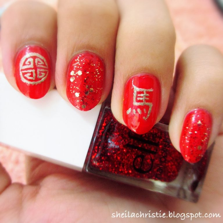 10 Chinese Nail Art to Uphold the Chinese Tradition