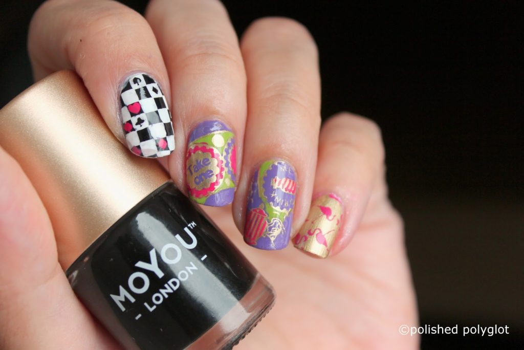 alice in wonderland nail designs
