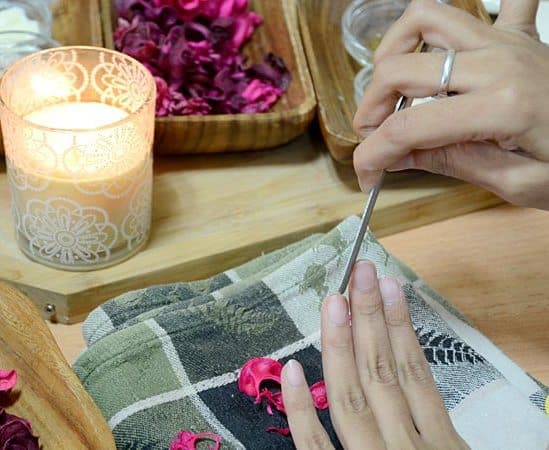 shaping your nail
