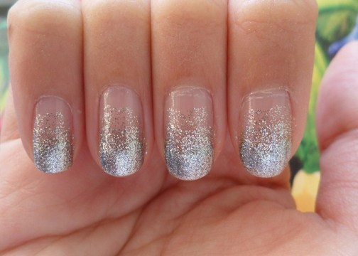 20 gradient glitter ombre nails to add glam � naildesigncode
