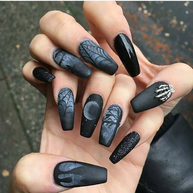 Gothic Nails Designs Choice Image - Nail Art and Nail Design Ideas