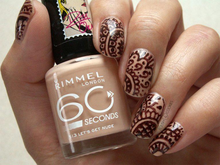 15 Creative Henna Nail Designs To Look Modish