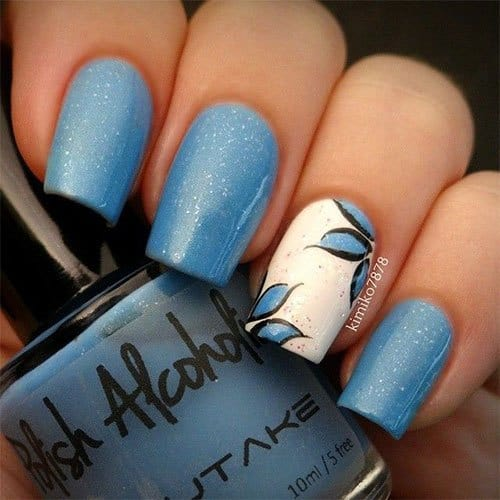 15 Hand Painted Nail Designs To Try This Season Naildesigncode