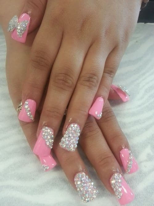 Duckbill Nails With Stone