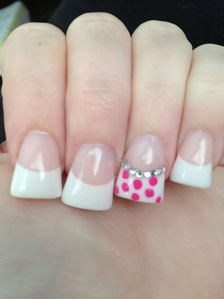 Simple Duckbill Nail Design