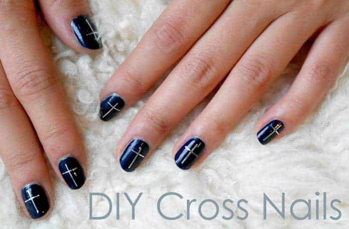 - 20 Cross Nail Designs To Uphold Your Christianity – NailDesignCode