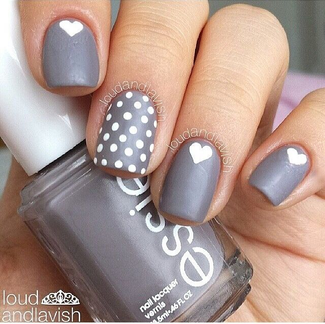 25 Hearty Heart Nail Designs To Ignite Romantic Soul