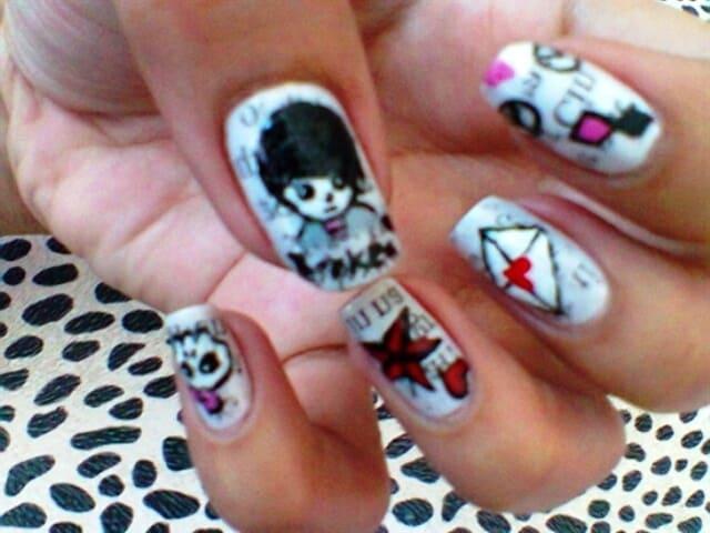 Emo Prince Nail Art
