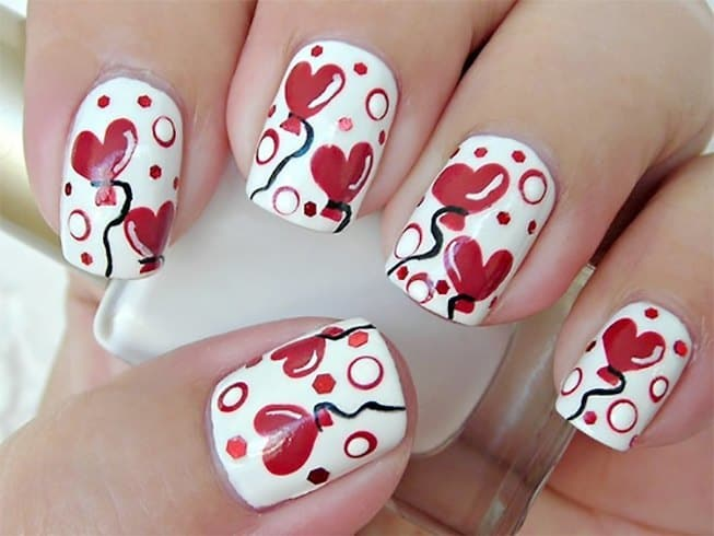 35 Valentine\'s Day Nail Designs To Celebrate Love