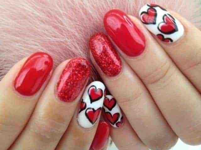 35 Valentine's Day Nail Designs To Celebrate Love