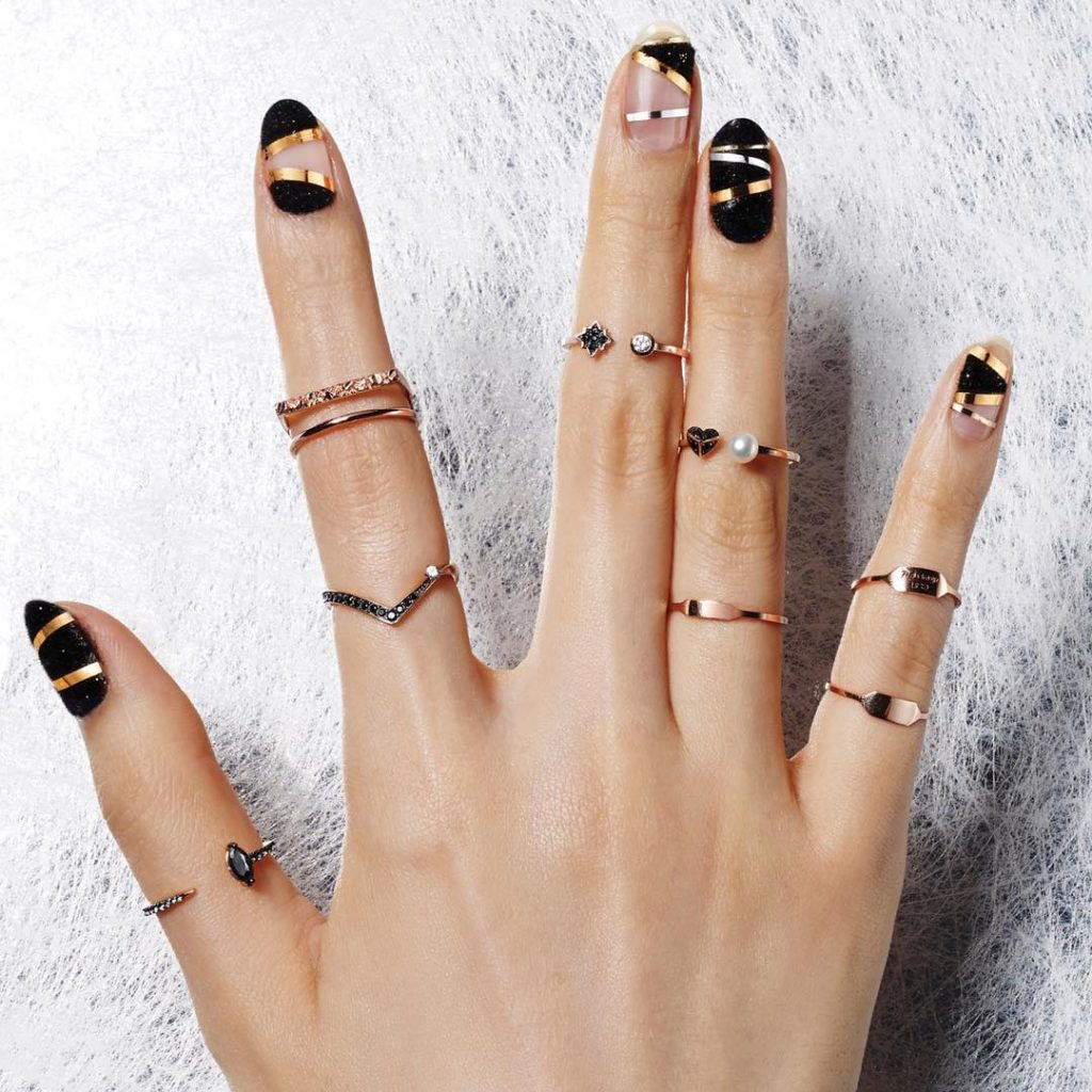 10 futuristic korean nail art to stay ahead of time korean nails are very famous on instagram korean nails on instagram is a largely searched keyphrase in google you can have this stunning korean nail art prinsesfo Gallery