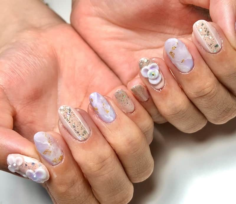 korean 3d nail art