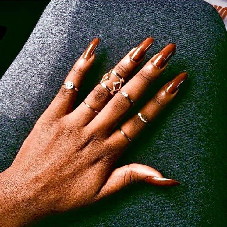 burberry nail polish for dark skin