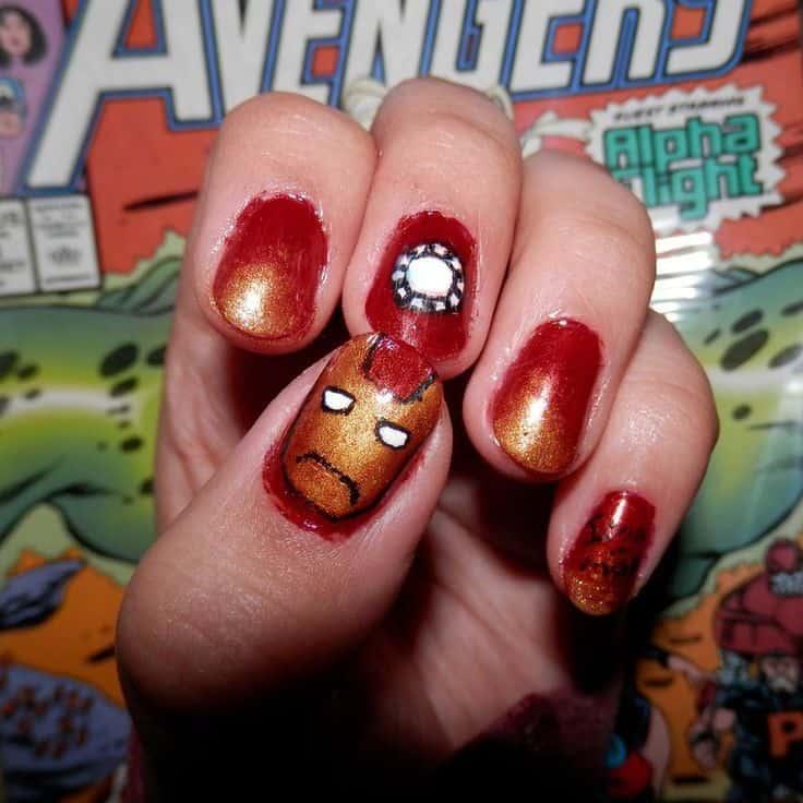 20 Marvel & Superhero Nail Art To Indulge in Fantasy