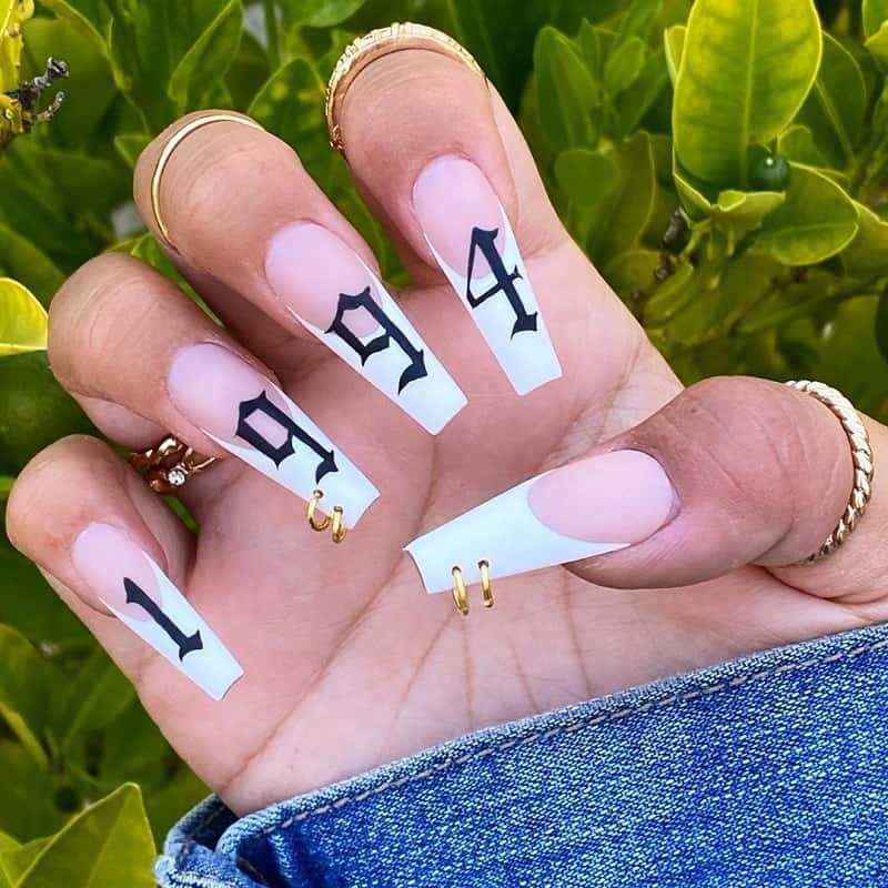 90s pierced nail
