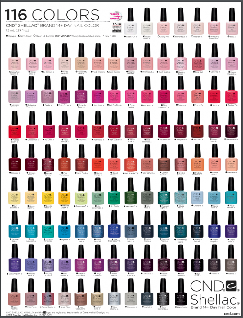 The Best Shellac Colors To Rock On Your Nails Naildesigncode