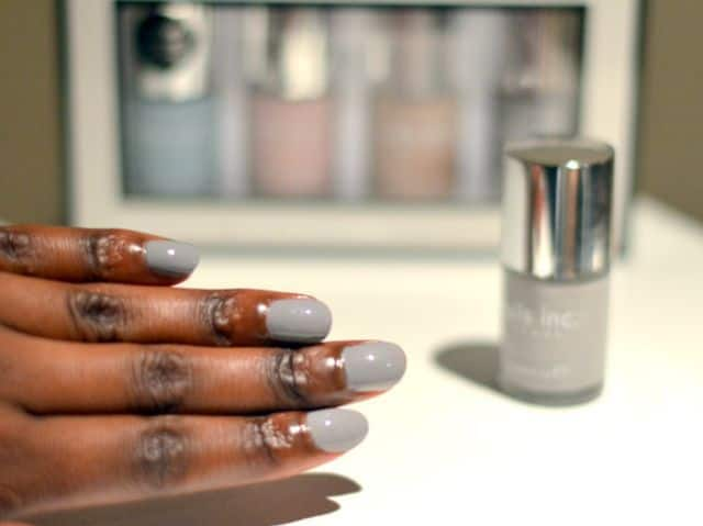 Grey Is A Mild Color And Used Largely For Darker Skin Tones You Can Undoubtedly Use Nail Polish