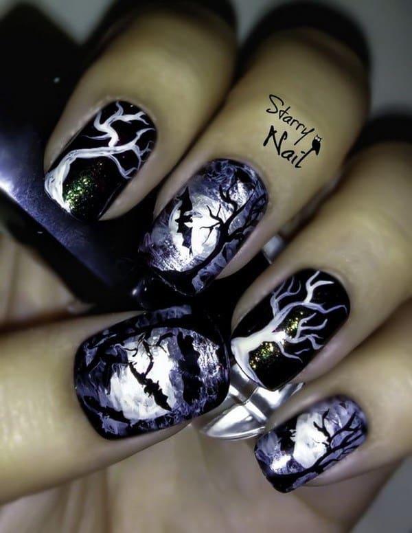 Halloween Nails Pinterest