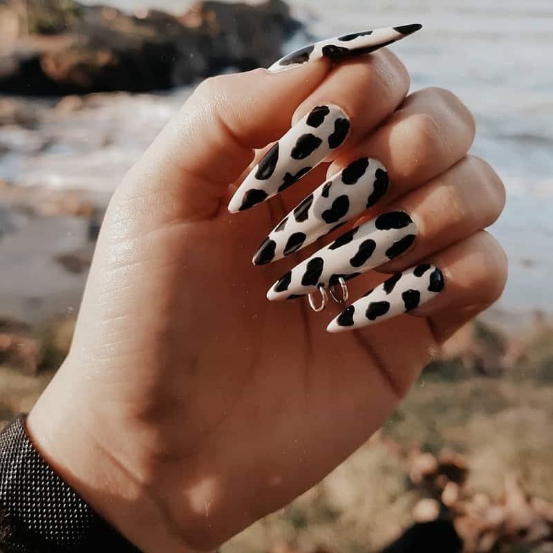 long pierced nail