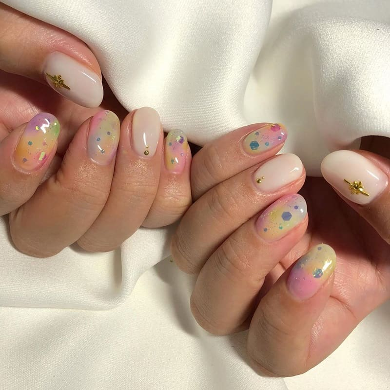 korean acrylic nails
