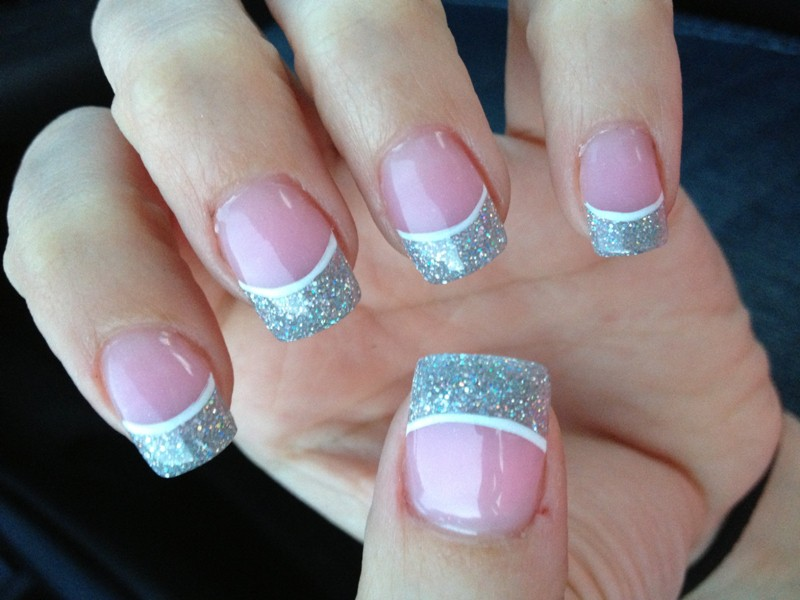 Solar Nails for Prom