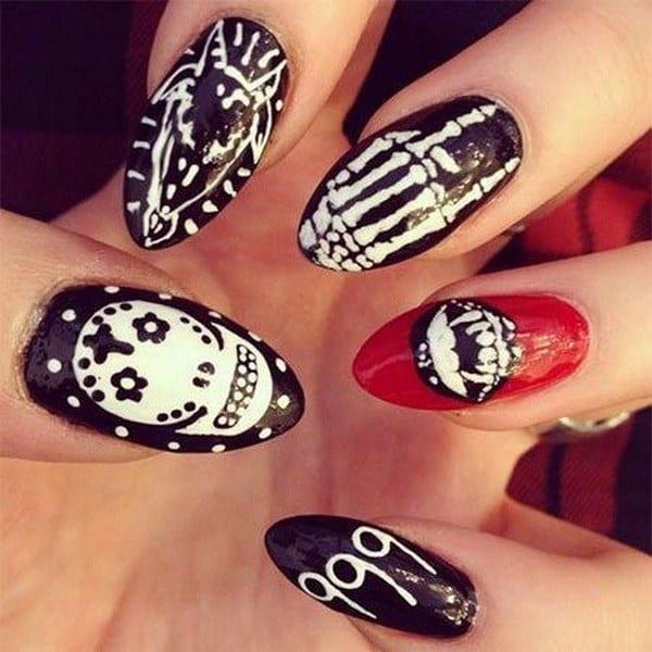 halloween nail ideas