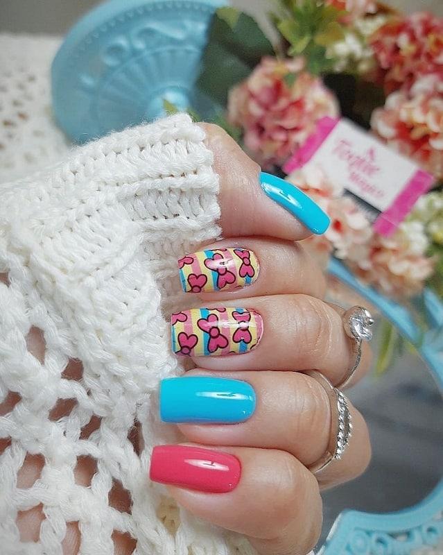 teens acrylic nail designs