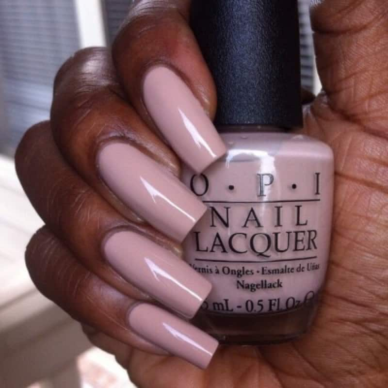 You Can Use This Very Light Shade Of Pink Color As Nail Polish For Dark Skin Tones These Nude Nails