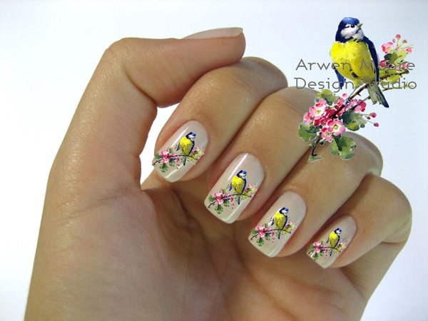 Little Bird Nail Stickers