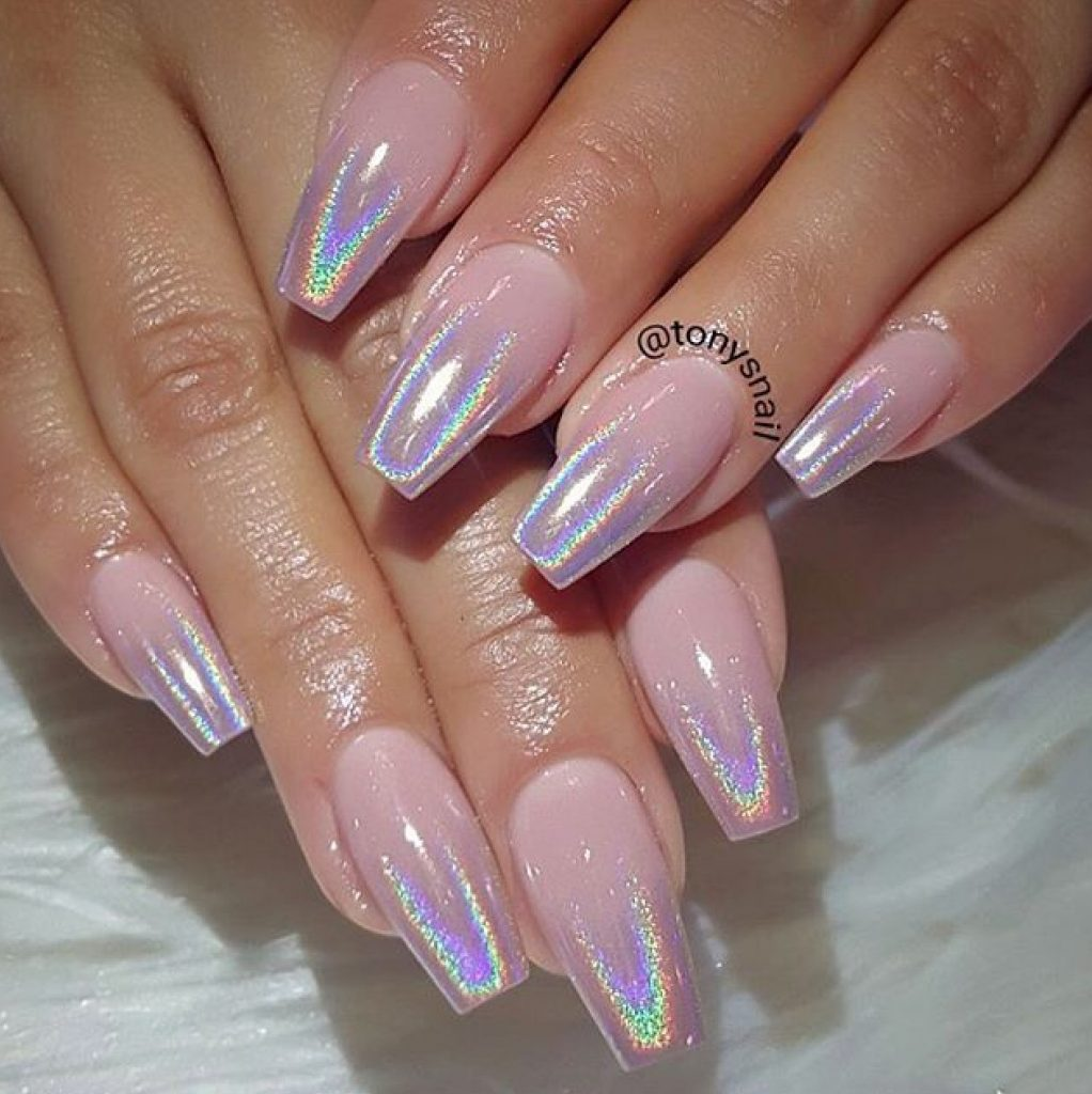 Holographic Nail tips