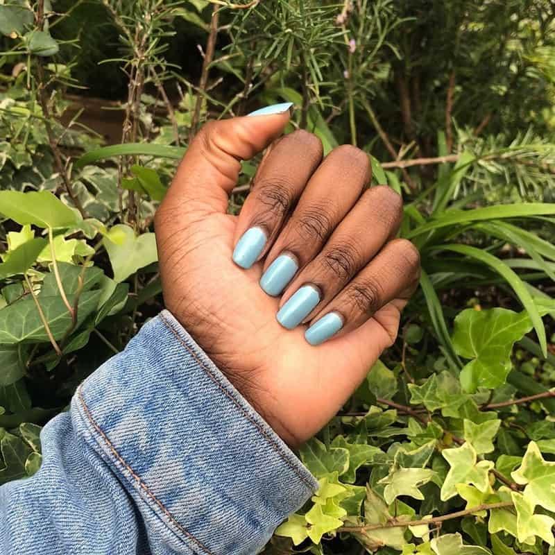 gel nail polish for dark skin tone