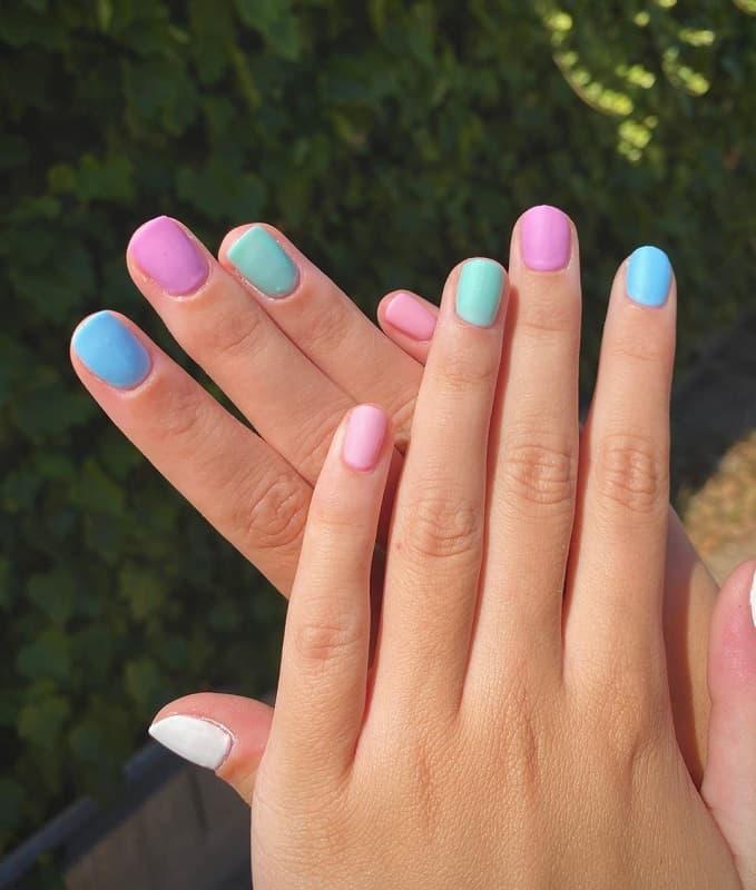 teens spring nails design