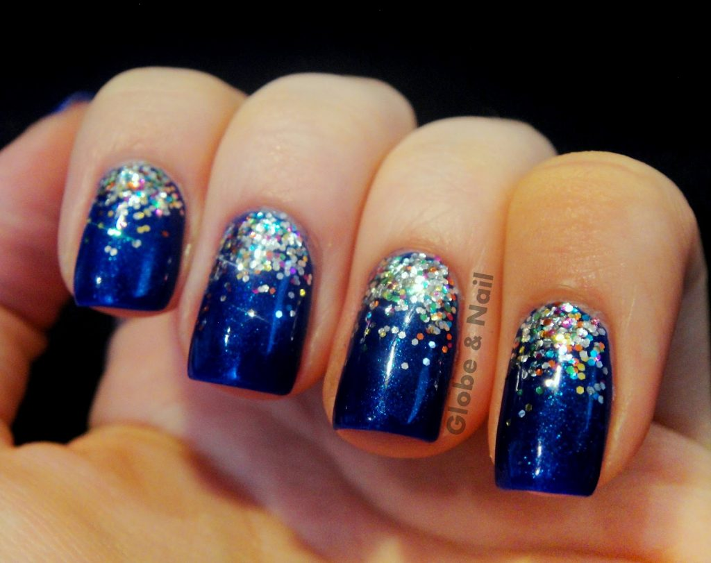 20 Gradient Glitter Ombre Nails to Add Glam – NailDesignCode