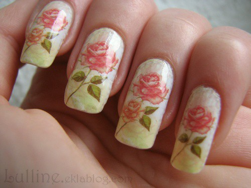 Floral Nail Art Decals