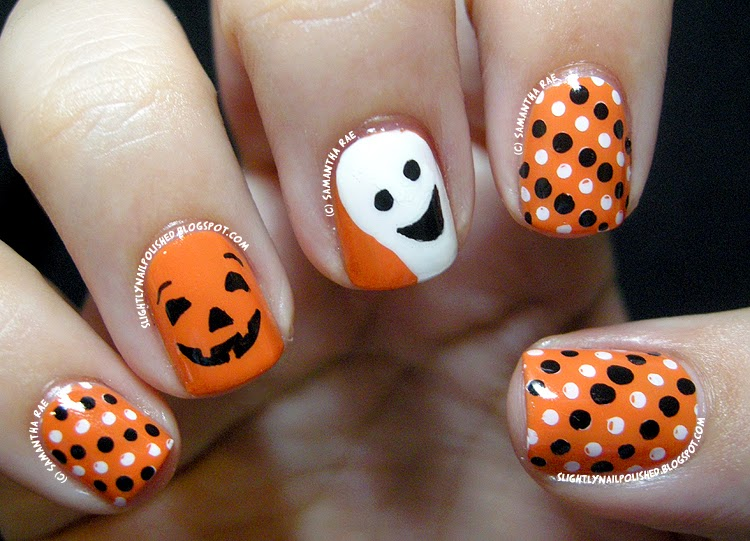 30 Spooky And Groovy Halloween Nail Art To Ward Off Ghosts