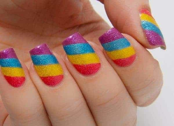 40 Vibrant Rainbow Nail Designs to Celebrate Life