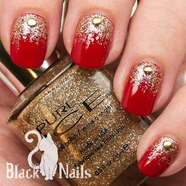 - 15 Royal Red And Gold Nail Designs To Stun The Audience