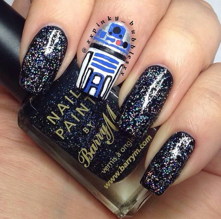 Attractive Star Wars Nail Art Gallery - Nail Art Ideas - morihati.com