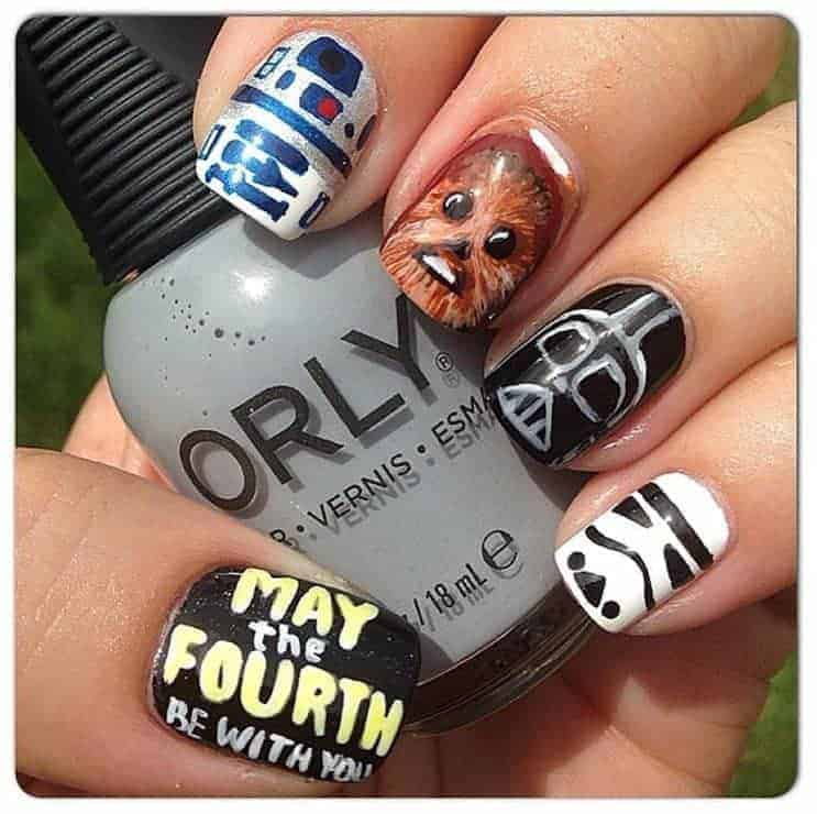 20 Star Wars Nails To Show Love For The Trilogy