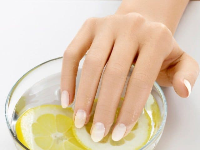 Soak Your Nails in Orange Juice