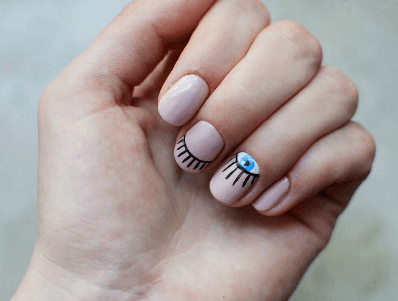 15 Magical Minimalist Nail Art To Design More With Less