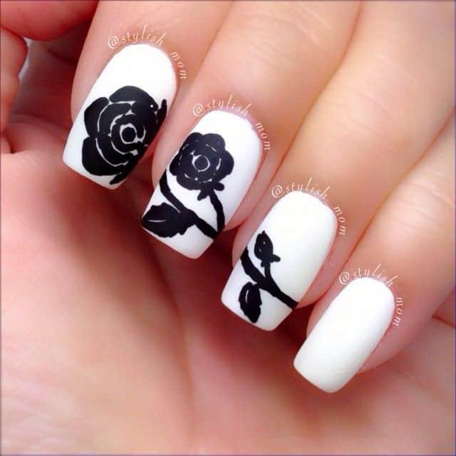 15 Rose Nail Art To Adorn Your Pretty Nail Naildesigncode