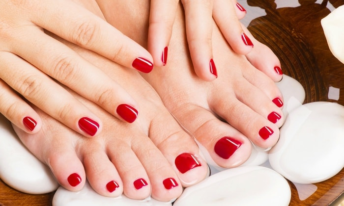 Wildfire shellac toenails