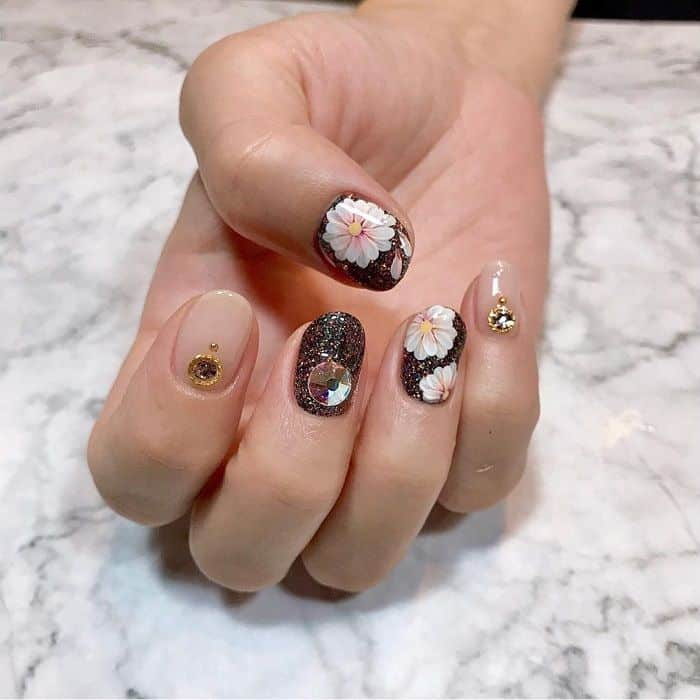 Daisy Nail Stickers