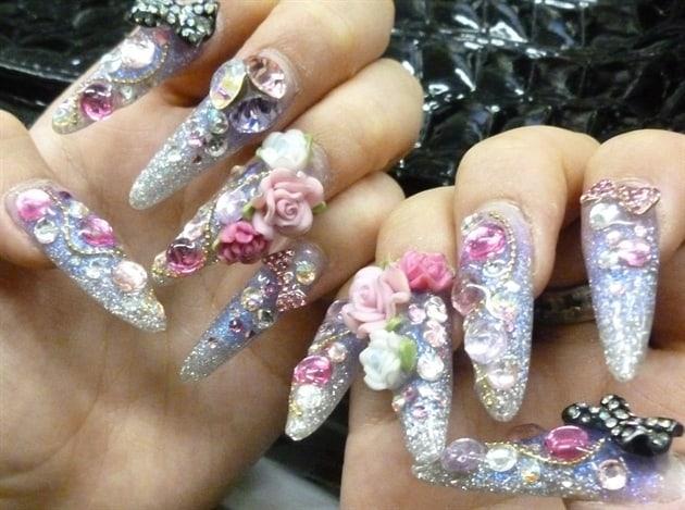 Extreme Japanese Nail Art