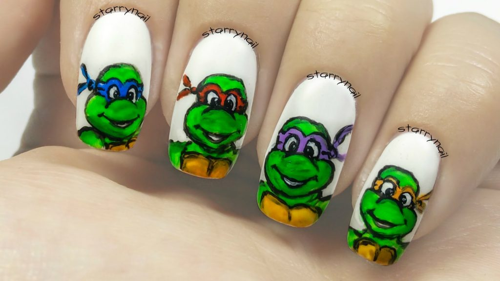 band of brothers ninja turtle nail