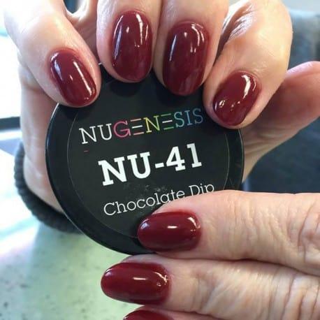 nugenesis chocolate dip nail
